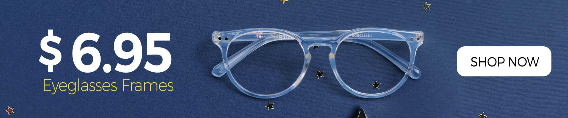 Buy Glasses For $6.95