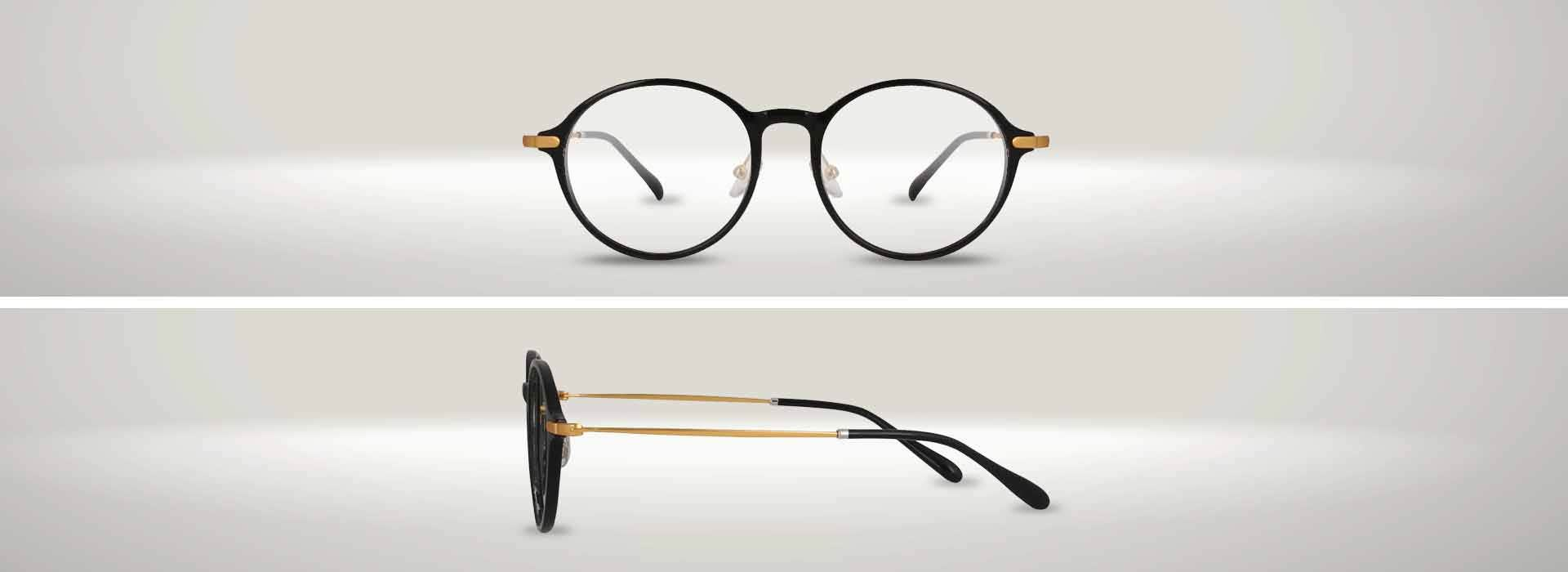 The 127955-C ROUND EYEGLASSES