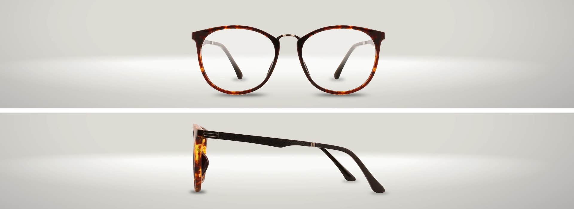 The 126637-C ROUND EYEGLASSES