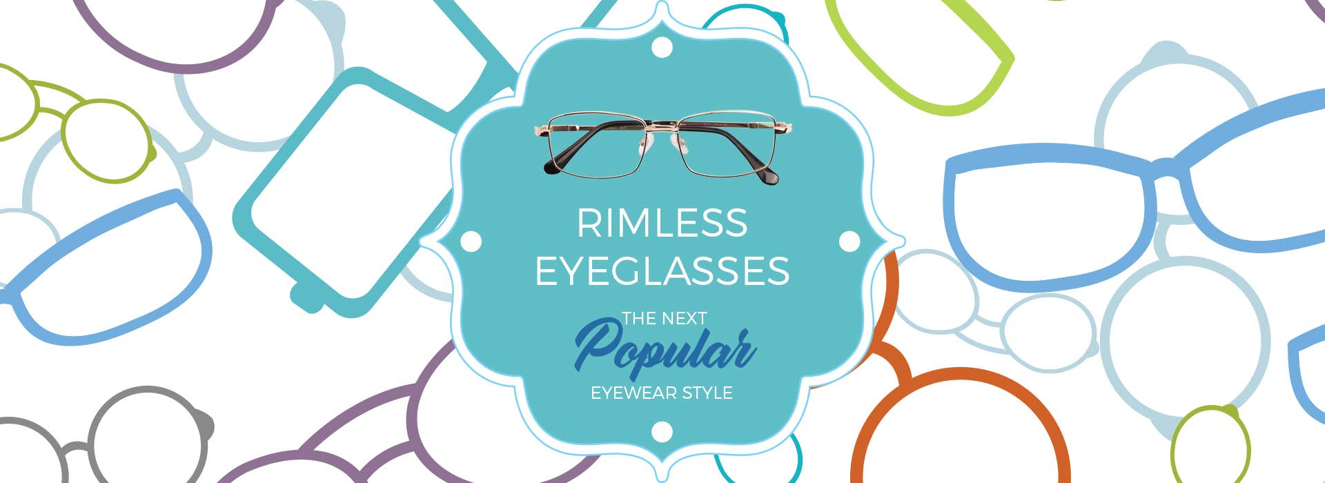 Rimless Eyeglasses - The Next Popular Eyewear Style - Goggles4u.com