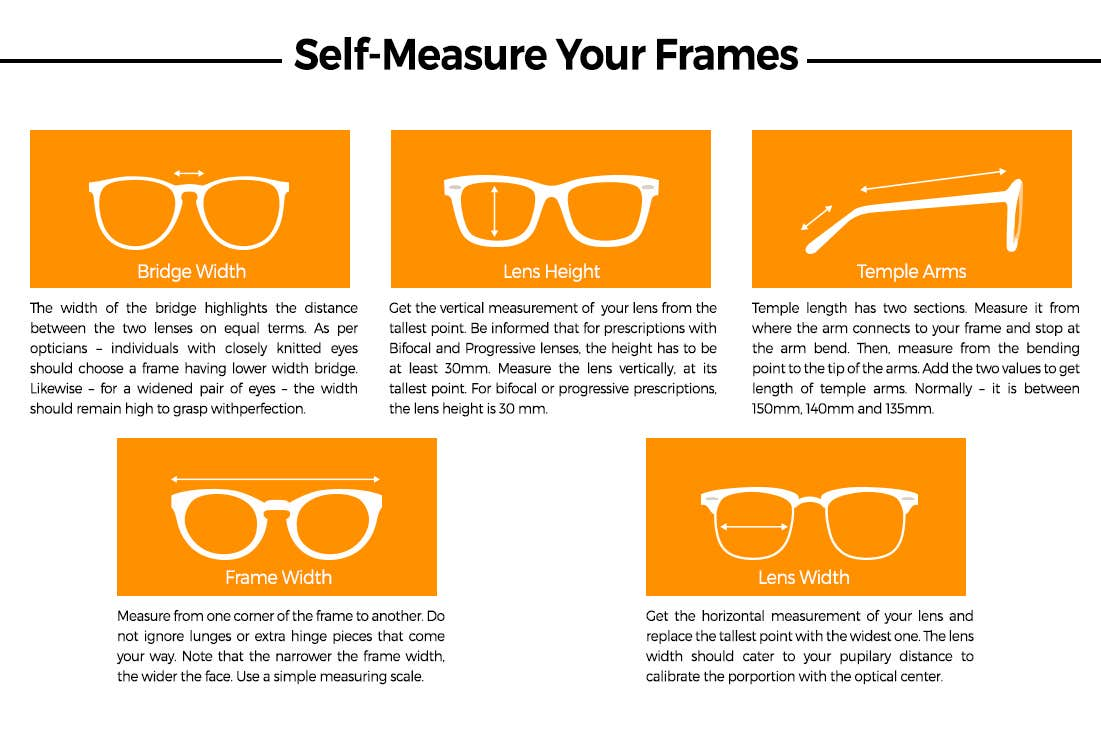 Right Size For Right Reasons - How To Self-Measure Your Eyeglasses?