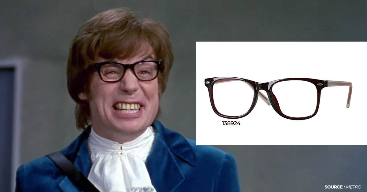 3) Austin Power Glasses For Halloween 2020