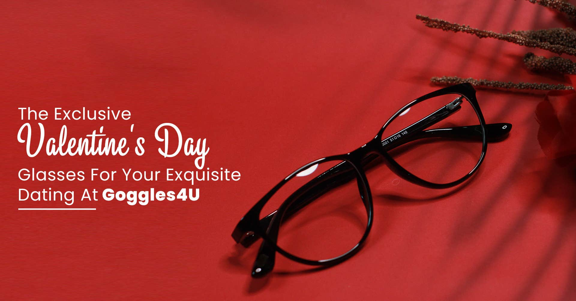 The Exclusive Valentine's Day Glasses For Your Exquisite Dating At Goggles4U