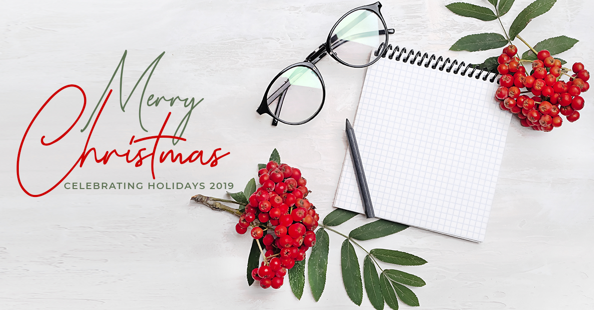 Merry Xmas: Celebrating The Christmas Holidays 2019