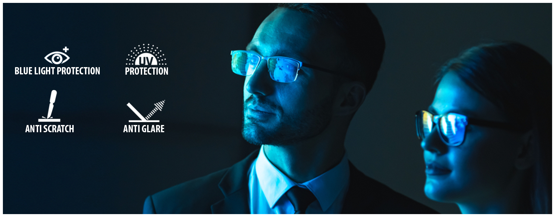Blue Light - The Digital Screen Protection Glasses:
