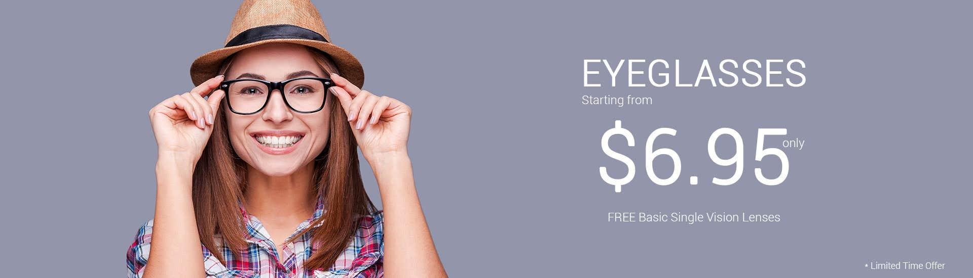 $6.95 Eyeglasses