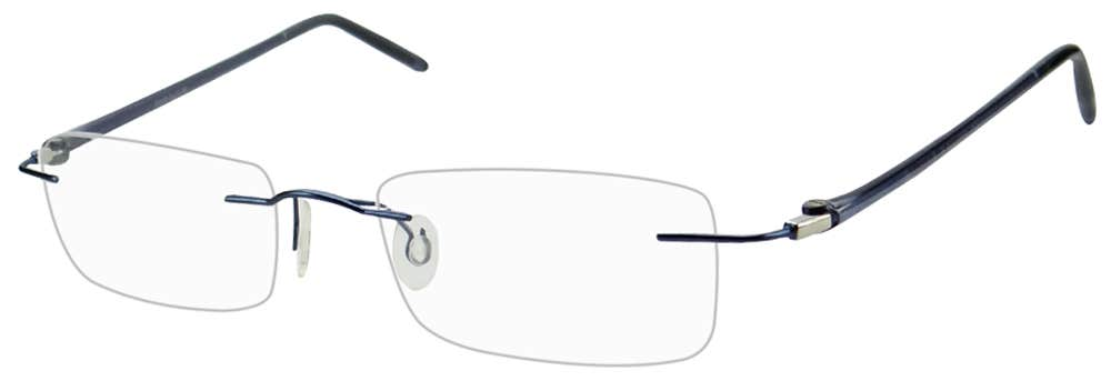 Rimless Eyeglass Frame