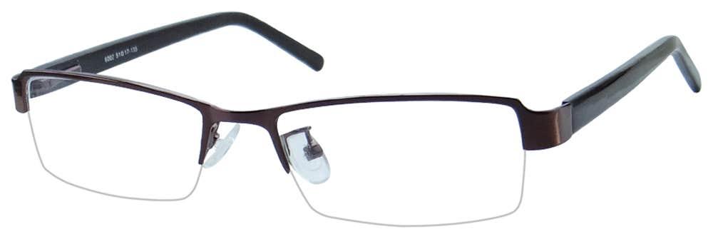 Half Rim Eyeglass Frame
