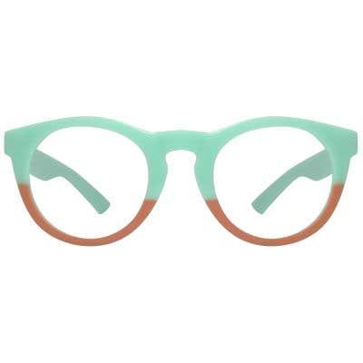 Round Eyeglasses 116658-c