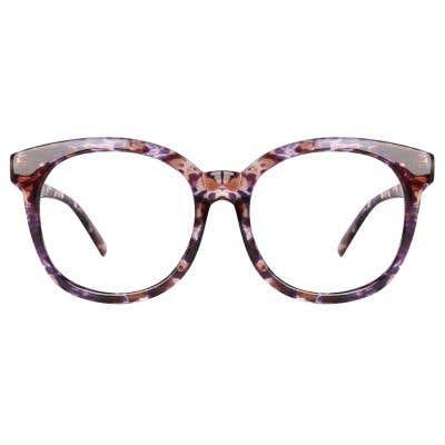 Round Eyeglasses 116649-c