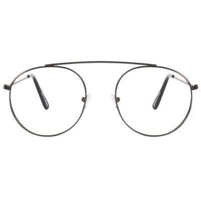G4U 7608 Round Eyeglasses 122242-c