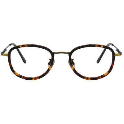 G4U 12930 Round Eyeglasses 123166-c