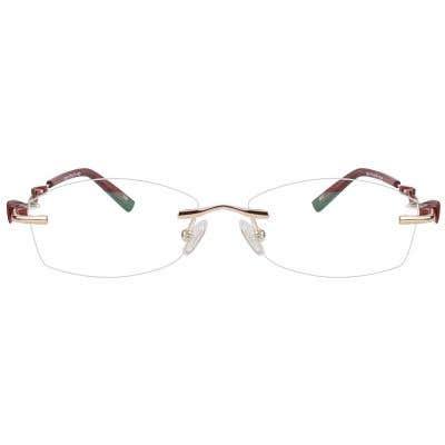 Rimless Eyeglasses 123937-c