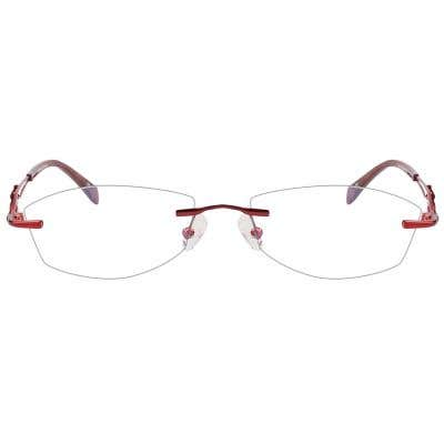 Rimless Eyeglasses 123949-c