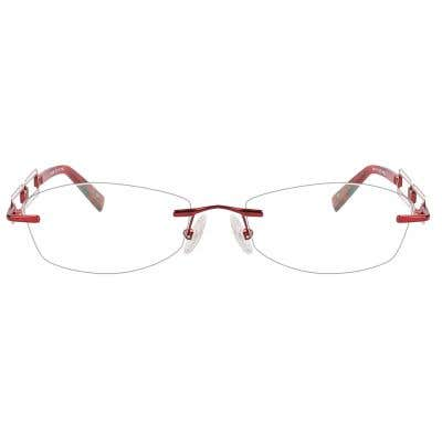 Rimless Eyeglasses 123951-c