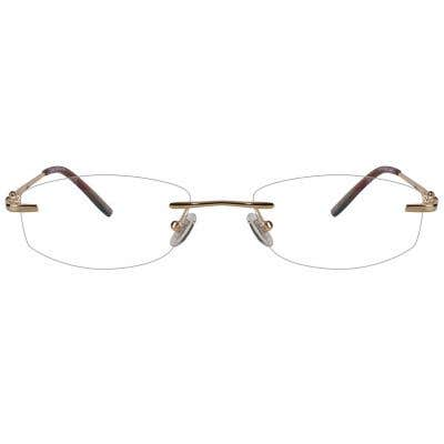 Rimless Eyeglasses 123961-c