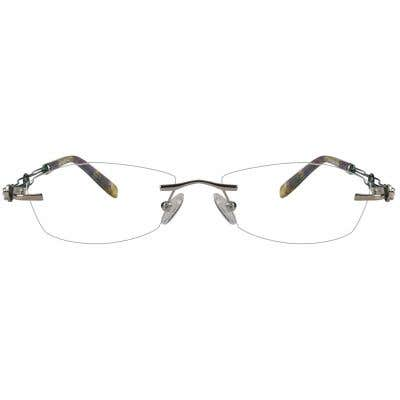 Rimless Eyeglasses 123979-c