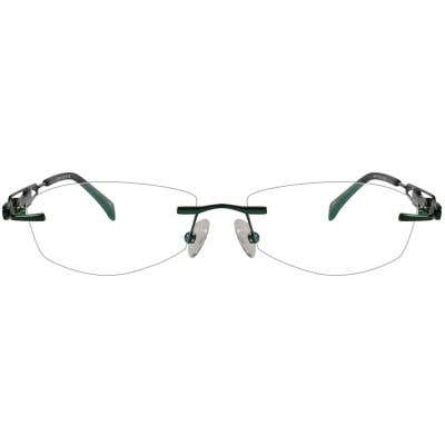 Rimless Eyeglasses 123985-c