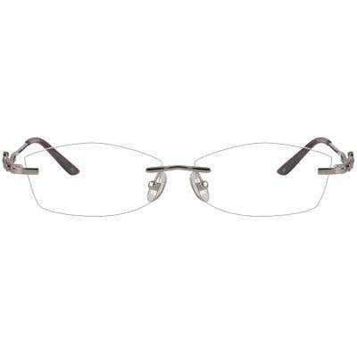 Rimless Eyeglasses 124004-c
