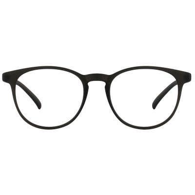 Round Eyeglasses 124021-c