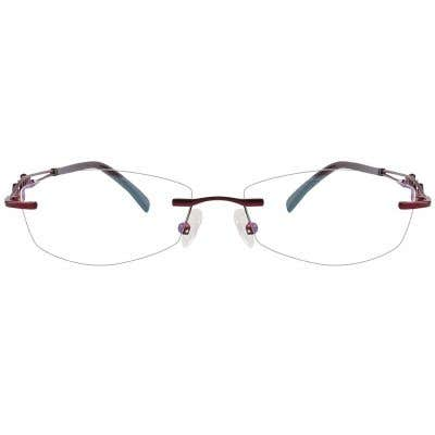 Rimless Eyeglasses 124119-c
