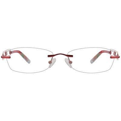 Rimless Eyeglasses 124137-c