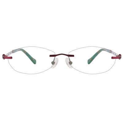 Rimless Eyeglasses 124141-c