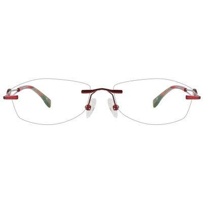 Rimless Eyeglasses 124144-c