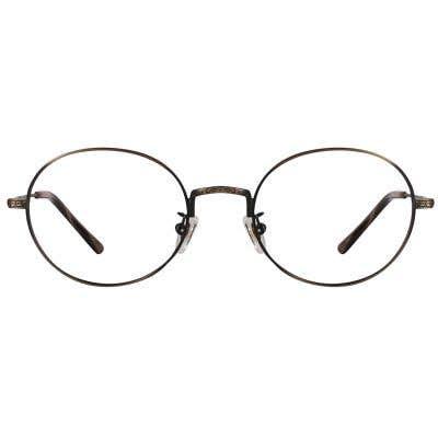 Round Eyeglasses 124456-c