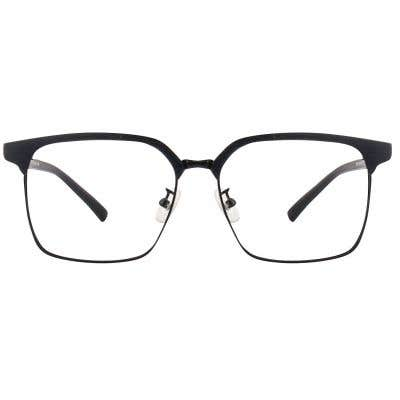 Browline Wood Eyeglasses 125123-c