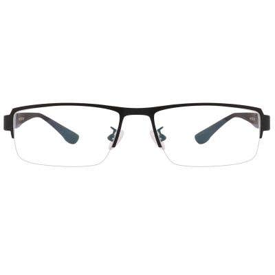 G4U 1004 Rectangle Eyeglasses 125164-c