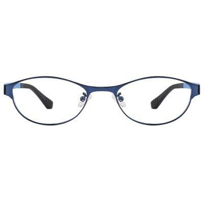 Oval Eyeglasses 125196-c
