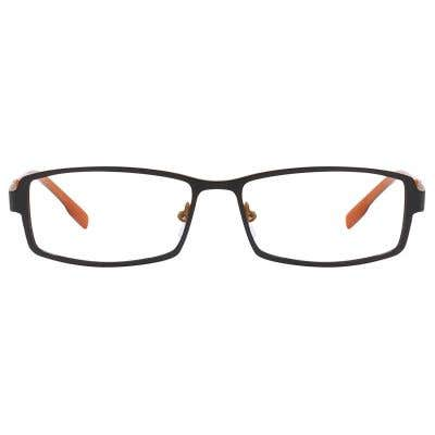 G4U 3033 Rectangle Eyeglasses 125332-c