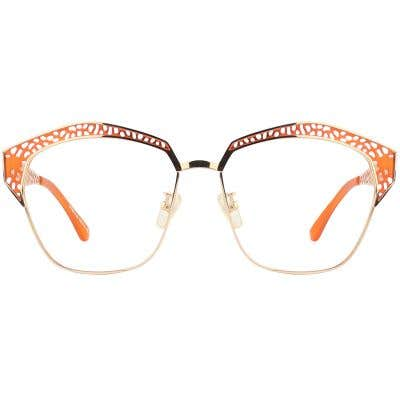 G4U SP8615 Rectangle Eyeglasses 125352-c