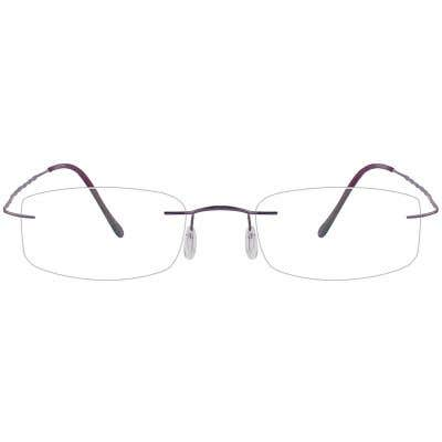 Rimless Eyeglasses 125427-c