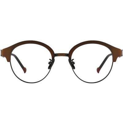 G4U 8311 Round Eyeglasses 125488-c
