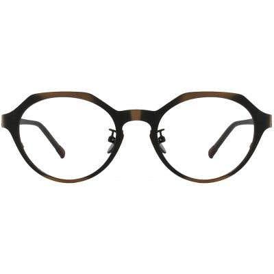 G4U 8303 Oval Eyeglasses 125497-c