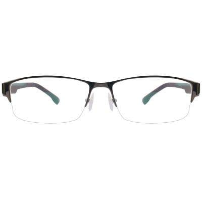 G4U QL9070 Rectangle Eyeglasses 125552-c