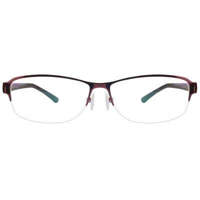 G4U-283 Rectangle Eyeglasses 125583-c