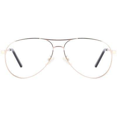 G4U T5614 Pilot Eyeglasses 125890-c