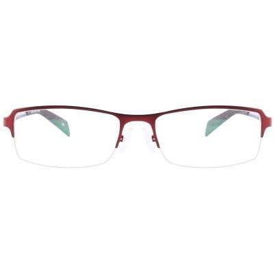 G4U 1242 Rectangle Eyeglasses 126010-c