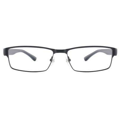 G4U L-3056 Rectangle Eyeglasses 126018-c