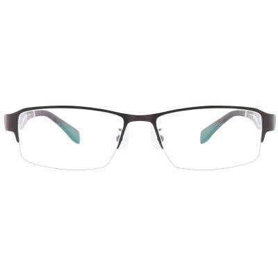 G4U O8078 Rectangle Eyeglasses 126030-c