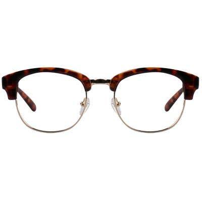G4U TR1802-1 Browline Eyeglasses 126107-c