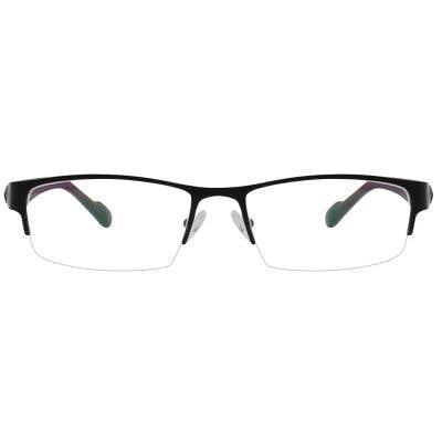 G4U GT002 Rectangle Eyeglasses 126129-c