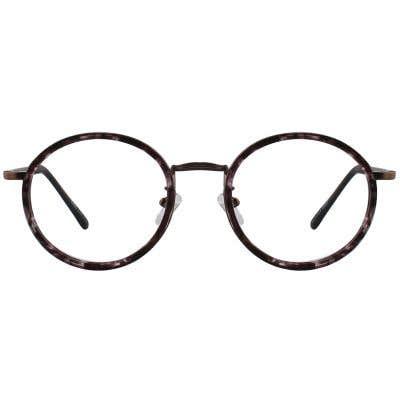 G4U 3104 Round Eyeglasses 126142-c