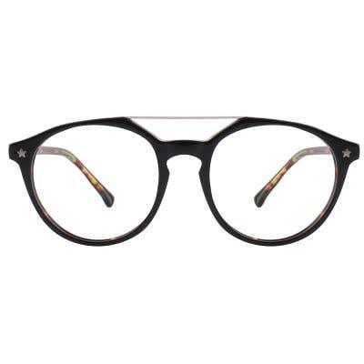 G4U 12857 Round Eyeglasses 126204-c