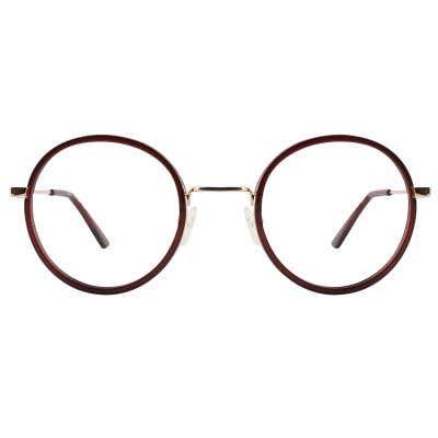 G4U X806 Round Eyeglasses 126210-c