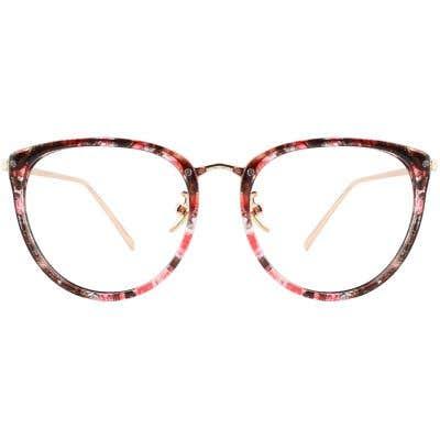 G4U X807 Round Eyeglasses 126223-c