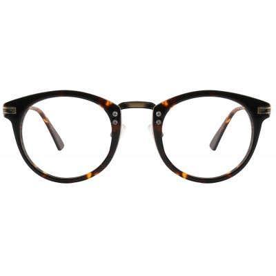 G4U 12911 Round Eyeglasses 126241-c